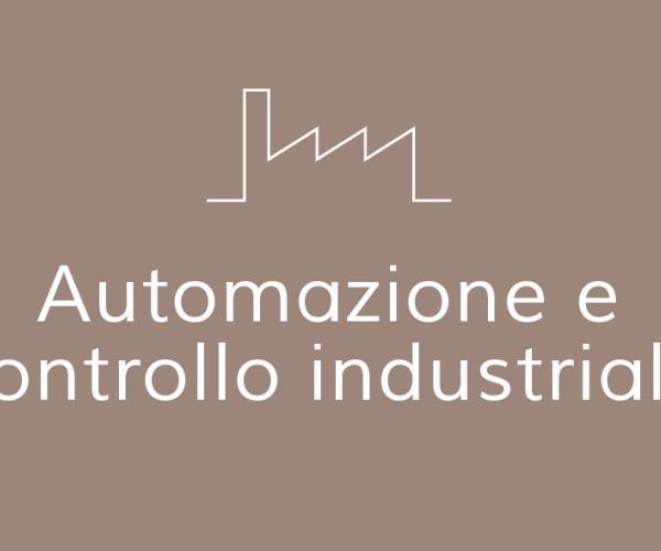 Automazione e controllo industriale